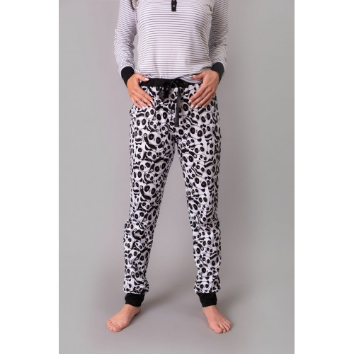 PANDA PYJAMAS FUR DAMEN