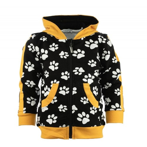 B1003 FOOTPRINT KINDER SWEATJACKE